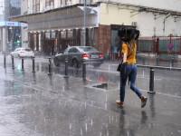 Cod Galben de ploi torențiale în 7 județe. Vreme instabilă în mai multe zone