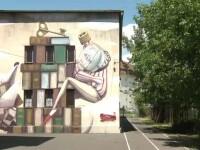 Festival de artă stradală la Sibiu. Peste 30 de artiști vor să transforme zidurile din oraș