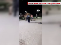 Bătaie generală într-o benzinărie din Dâmbovița. Polițiștii, neputincioși în fața agresorilor