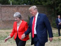 Mișcare surpriză a lui Donald Trump în Marea Britanie. Ce vrea să facă după Brexit
