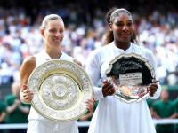 Kerber a câștigat finala de la Wimbledon, după ce a învins-o pe Serena Williams