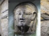Mumie veche de 2500 de ani, descoperită într-o necropolă. Cum i-a fost creată masca mortuară