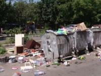 Munți de gunoaie pe străzile din Craiova. Explicația oferită de autorități