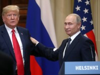 """Vladimir Putin, despre o nouă întrevedere cu Trump: """"Sunt pregătit să merg la Washington"""""""