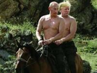 Glumele apărute pe seama lui Trump după întâlnirea cu Putin. FOTO