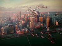 Maşina zburătoare, mai aproape de realitate. Un gigant aeronautic vrea să revoluţioneze transportul urban