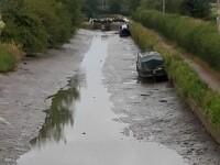Un barcagiu a lăsat, accidental, un canal fără apă