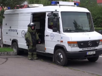 Panică în Braşov din cauza unui exerciţiu al pirotehniştilor. Coletul suspect i-a speriat pe oameni