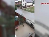 Jumătate din țară se află sub cod galben de ploi. Inundații grave în mai multe orașe