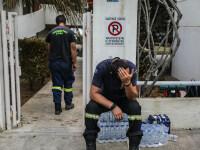 Tragedia unui pompier. Și-a pierdut bebelușul în incendiile din Grecia, iar soția este în stare critică