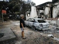 83 de morți în Grecia. Confruntare între autorități și oamenii disperați: