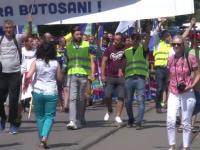 Protest în Botoșani din cauza drumurilor proaste: