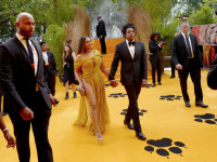 Beyonce, în presa din întreaga lume! Rochia purtată de vedetă a stârnit numeroase comentarii