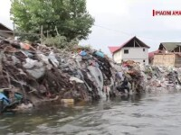 Dezastru ecologic pe un râu din România. Autoritățile cunosc situația, dar nu fac nimic