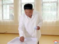 Prezență la vot de aproape 100% la alegerile din Coreea de Nord. Mesajul lui Kim Jong Un