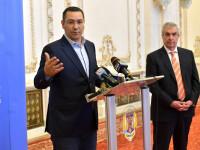 """Ponta a început negocierile cu PSD și ALDE pentru prezidențiale: """"Ținem doar cu România"""""""