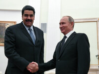 """Președintele Venezuelei se vede cu prietenul său, """"tovarăşul preşedinte Vladimir Putin"""""""
