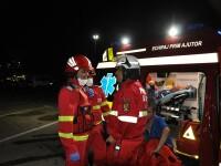Incendiu la locomotiva unui tren în care se aflau 50 de persoane. Anunțul autorităților
