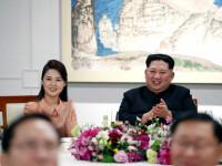 FOTO. Imagini cu soția lui Kim Jong Un în ipostaze indecente. Reacția nervoasă a dictatorului