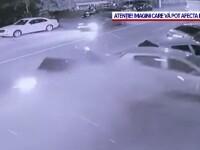 Accident violent în Baia Mare. Un bărbat de 50 de ani, băut și fără permis, a făcut prăpăd în calea lui