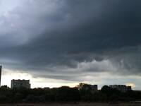Alertă de vremea rea. ANM anunță Cod galben de ploi torențiale, vijelii și grindină. Zonele afectate