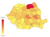 Coronavirus România. Unde s-au înregistrat cele mai multe cazuri în ultimele 24 de ore