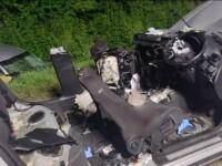 Patru oameni au murit după ce un tânăr a depășit pe linie continuă. Avea mașină cu volan pe dreapta