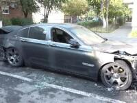 Un polițist, complice în dosarul care vizează incendierea unei maşini din Arad, anul trecut