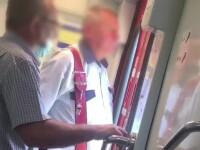 Călătoria cu trenul poate deveni extrem de riscantă. Nici călătorii, nici controlorii nu poartă mască