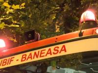Incendiu la subsolul unui restaurant, pe Calea Floreasca din Capitală
