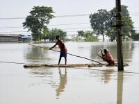 Cel puțin 50 de morți, în India. Inundațiile au afectat peste 2 milioane de oameni