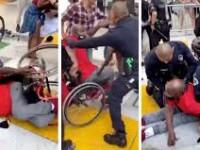 """VIDEO. Un bărbat cu dizabilități, agresat de polițiștii din Los Angeles. """"E dezgustător!"""""""