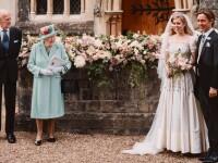 Primele imagini de la nunta secretă a Prințesei Beatrice. Regina a stat la distanță de miri
