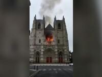 Cum a fost descoperit vinovatul pentru incendiul de la Catedrala din Nantes