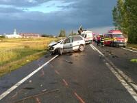 Primarul unei comune din Vrancea a murit într-un accident rutier. O altă persoană a decedat și trei sunt rănite