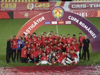 FCSB a câștigat Cupa României. A învins-o cu 1-0 pe Sepsi Sfântu Gheorghe