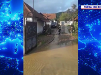 Mai multe localități, sub ape, după codul roșu de furtuni și ploi torențiale. Au fost trimise mesaje prin sistemul RO-Alert