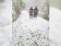 """România, lovită de inundații și grindină. """"Iarnă în plină vară!"""""""