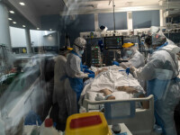 Coronavirus România. Record zilnic de persoane internate la Terapie Intensivă