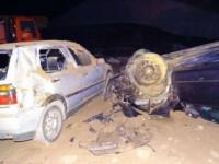 Trei români răniți în Bulgaria, după ce șoferul nu a văzut că se termină autostrada