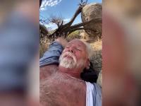 Cum a supraviețuit un american cu piciorul rupt și fără apă în deșert