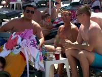 Record de turiști pe litoralul românesc. Respectarea distanței, o provocare