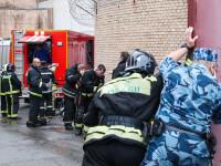 Incendiu într-un penitenciar pentru femei din Moscova. 850 de persoane evacuate. VIDEO