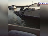 Accident naval în Deltă. Două bărci cu motor pline cu turişti s-au ciocnit