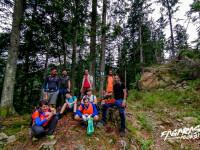 Cu ajutorul voluntarilor, în Țara Făgărașului potecile redevin primitoare