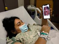 Drama mamelor infectate care nu-și pot lua în brațe copilul nou-născut. Singurul mod în care îl pot vedea este incredibil