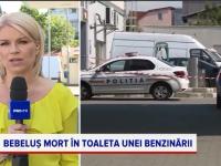 Bebeluș mort descoperit în toaleta unei benzinării din București. Ce au aflat polițiștii