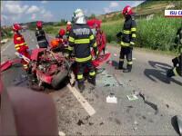Cumplit accident de circulație în Cluj. Un bărbat a murit, iar o femeie și un copil sunt în stare critică