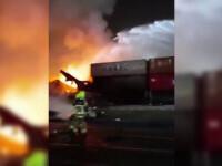 Incendiu puternic, urmat de o explozie, a avut loc în principalul port din Dubai