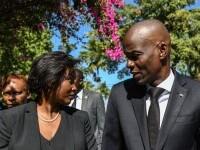 Văduva preşedintelui haitian: Într-o clipită, mercenarii au intrat în casa mea şi l-au ciuruit pe soţul meu